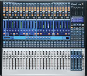 24 channel digital mixer